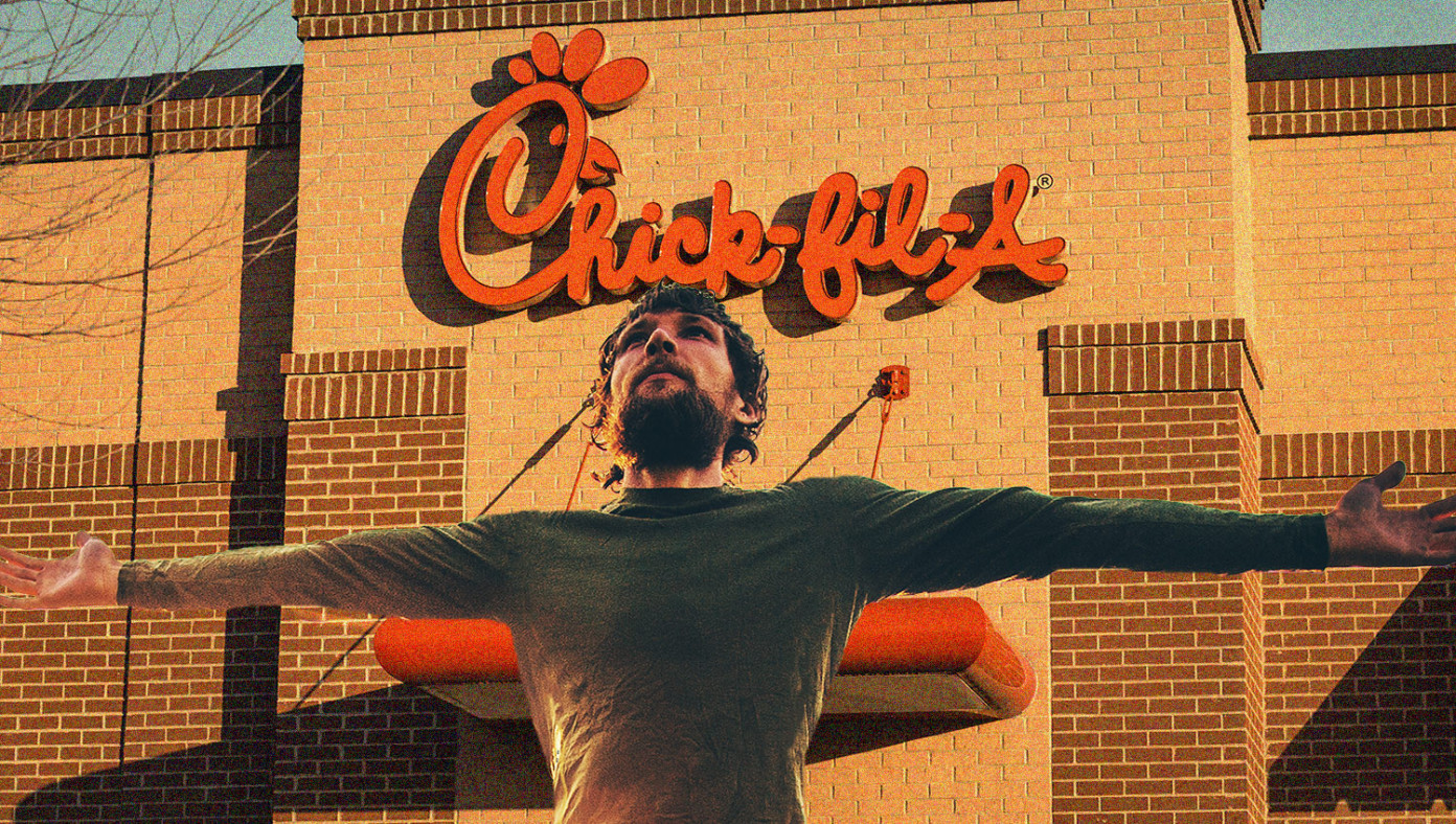 Gay Man Miraculously Turned Straight By Single Bite Of Chick-Fil-A