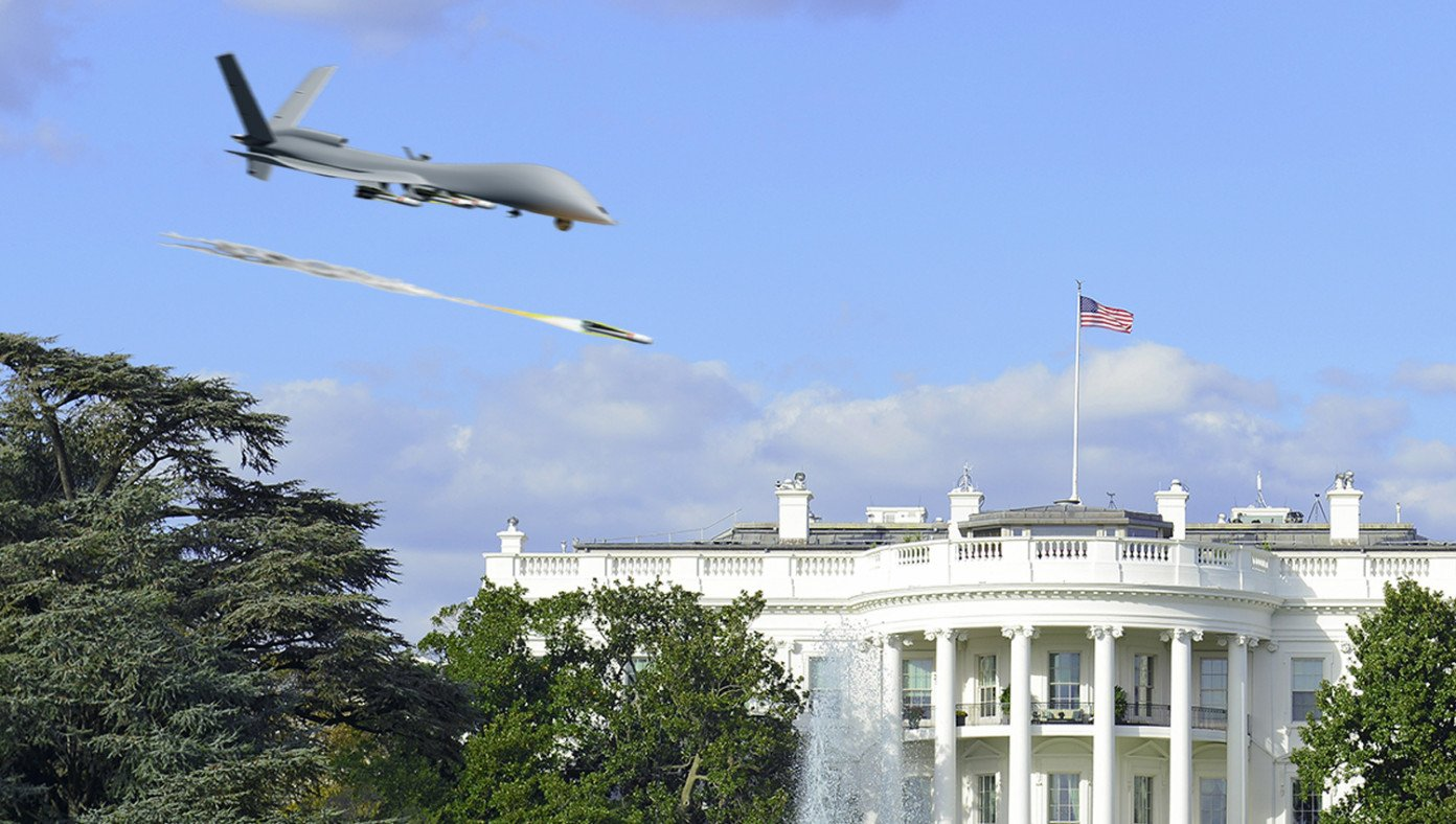 Biden Drone Strikes White House After Vowing To Kill Those Responsible For American Military Deaths In Kabul