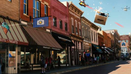 Nation Looks Forward To Glorious Future Where Every Business In Town Is Owned By Walmart Or Amazon
