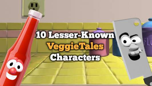10 Lesser-Known VeggieTales Characters