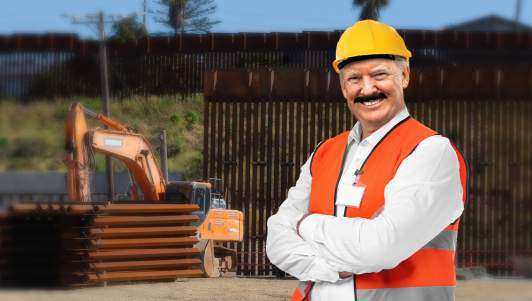 Biden Appoints Construction Worker Donaldio Trumptinez To Finish Border Wall