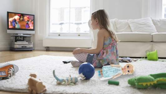 Kid Abandons Her Toys To Watch Other Kids Play With The Same Toys On YouTube