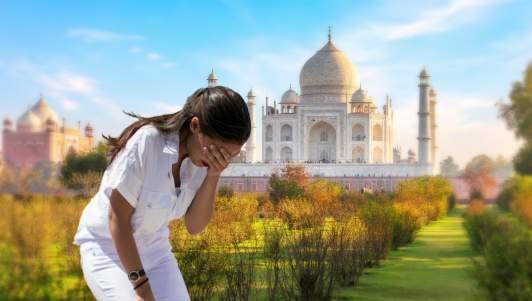 AOC Cries At Taj Mahal After Racist Travel Ban