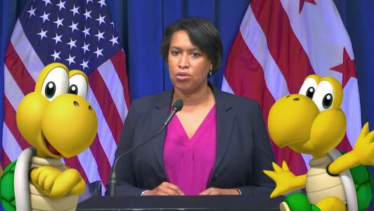Mayor Bowser Vows To Viciously Enforce New Mask Mandate With Army Of Koopas