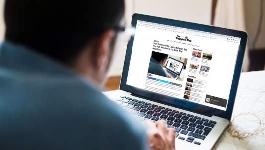 Man Surprised To Learn Babylon Bee Has Full Articles To Go With The Headlines