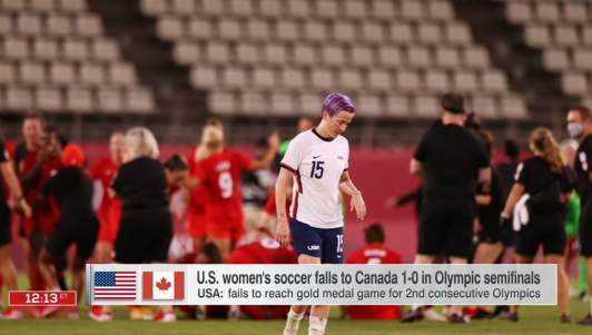 Canada Politely Apologizes For Beating U.S. Women's Soccer Team